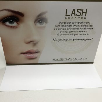 Borddisplay Lash Shampoo